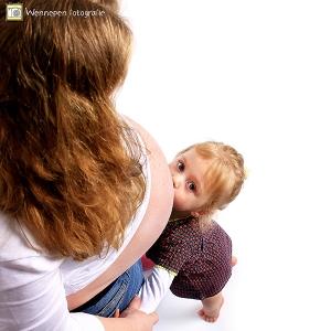 zwangerschapshoot op locatie - by Wennepen