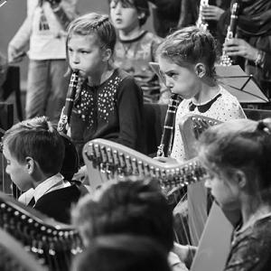 Reportage orkest in de klas