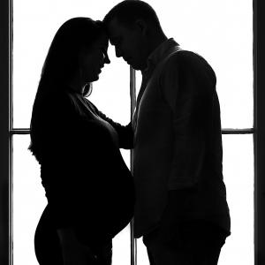 zwangerschapshoot op locatie - copyright by Wennepen